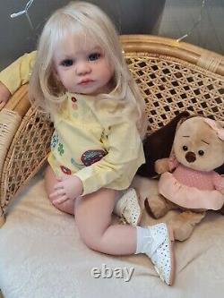Realistic baby Gabriella set from the Regina Swialkowski / Lidia Lebedeva