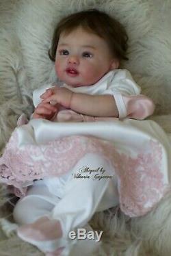 Realistic reborn doll Abigail by Laura Tuzio Ross