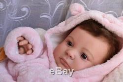 Reborn 3 Month Joseph Awake Reborn Baby Girl Doll