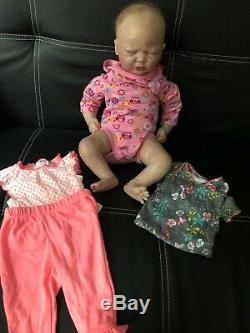 Reborn Again Baby Girl Doll With Outfits