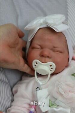 Reborn Baby 7lbs Doll, Child Safe, Full Limbs, Floppy Uk Artists Sunbeambabies