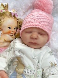 Reborn Baby Art Doll Authentic Reborn Uk Realborn Beautiful Baby Girl Emma