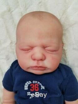 Reborn Baby Boy HARPER Bountiful Baby Full Torso Lifelike Realistic Newborn Doll