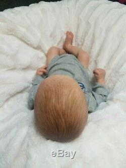 Reborn Baby Boy Realborn Asher Asleep Bountiful Baby Lifelike Realistic Doll
