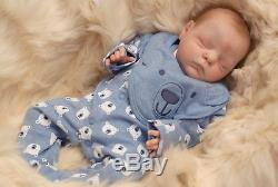 Reborn Baby Boy doll from Trinibabies from Xander by Cassie Brace