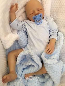 Reborn Baby Childs Doll Real Boy Matthew Realistic 20 Newborn Lifelike Asleep