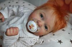 Reborn Baby Dany Prototype by Iveta Eckertová reallife doll boy
