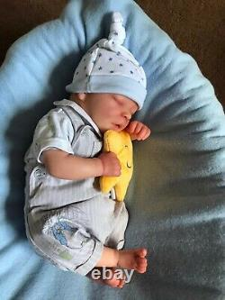 Reborn Baby Darren By Bountiful baby with posing seat