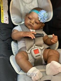 Reborn Baby Doll AA Biracial Sarah By Antonio Sanchis
