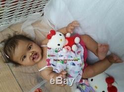 Reborn Baby Doll Biracial Ethnic Aleyna Adèle Ping Pau Nursery BRC