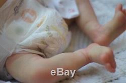 Reborn Baby Doll Charlotte by Laura Lee Eagles Prototype Artist Darya Medyulya