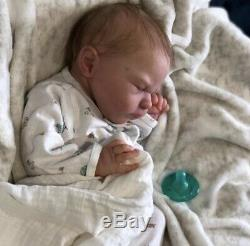 Reborn Baby Doll LEO Newborn by Sabine Altenkirch LE with COA, Realistic Doll