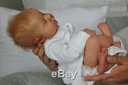Reborn Baby Doll Levi (From the kit Levi sculpted by Bonnie Brown)