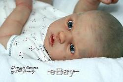 Reborn Baby Doll Lifelike Realistic Vinyl doll kit CameronPhil Donnelly Babies