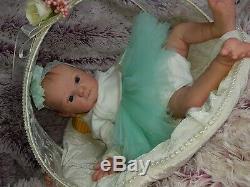 Reborn Baby Doll Mädchen Kind Puppe Bausatz Yael by Gudrun Legler Limited Edit