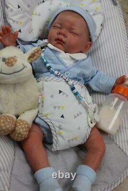 Reborn Baby Doll Oscar, Child Friendly, Full Limb, Outfit Varies, Sunbeambabies