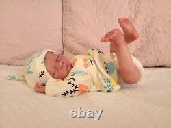 Reborn Baby Doll Pearl Asleep by Bountiful Baby
