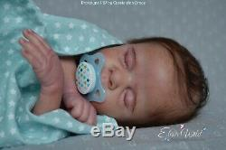 Reborn Baby Doll Preemie Boy Prototype PIP by Cassie Ann Brace