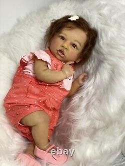Reborn Baby Doll Saskia Biracial What A Princess