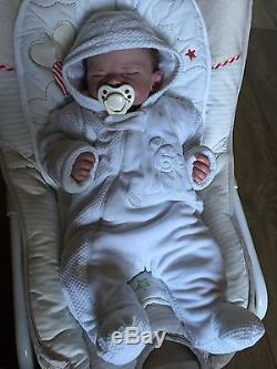 Reborn Baby Doll Sienna Rae By Cassie Brace