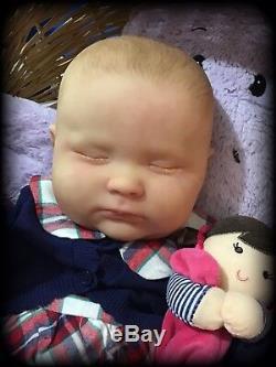Reborn Baby Dolls Joseph 3 Months Awake, Only custom order, Realborn Baby