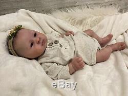 Reborn Baby Girl Adalyn By Aleina Peterson Lifelike Realistic Art Doll 16