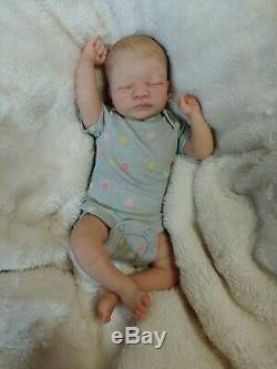 Reborn Baby Girl Aria by Toby Morgan Limited Ed Realistic Preemie Doll
