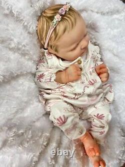 Reborn Baby Girl Art Doll From Martin Sculpt Heavy Authentic Reborn Uk Artist