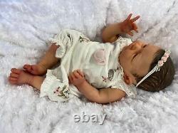 Reborn Baby Girl Art Doll Selina Scherer Authentic Reborn Uk Artist