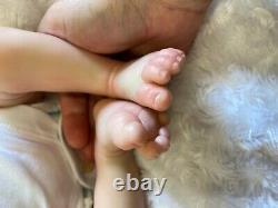 Reborn Baby Girl Art Doll Uk Artist Realborn Sculpt Sage