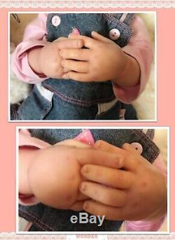 Reborn Baby Girl BAILEY by SANDY FABER BOOBOO DOLL Child Friendly Low Price