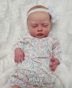 Reborn Baby Girl Delilah by Nikki Johnston Realistic Lifelike Doll Limited Ed