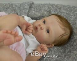 Reborn Baby Girl Doll Jocy Olga Auer By Jessie's Babies