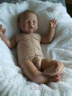 Reborn Baby Girl Doll, Leelou By Cassie Brace