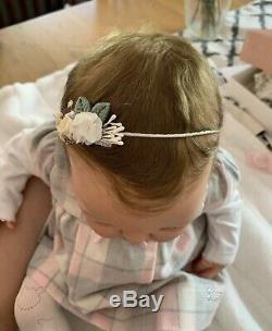 Reborn Baby Girl Doll Paris By Adrie Stoete sweet chunky baby