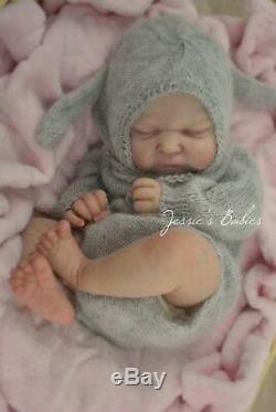 Reborn Baby Girl Doll Ramsey By Cassie Brace Jessie's Babies