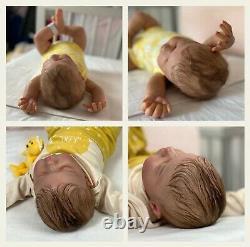 Reborn Baby Girl Doll Willow (Willa by Cassie Brace) COA 141/1800 by UK Artist