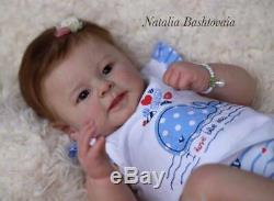 Reborn Baby Girl GRETA by Andrea Arcello Limited Edition Realistic Doll RARE
