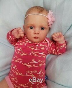 Reborn Baby Girl JOCY by Olga Auer Limited Edition Realistic Newborn Doll
