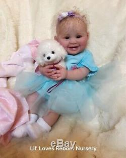 Reborn Baby Girl JULIANA by PING LAU BEAUTIFUL LE ART TODDLER DOLL! SALE