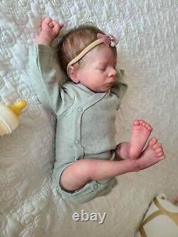 Reborn Baby Girl Leif By Bountiful Baby