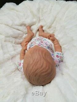 Reborn Baby Girl Limited Edition Wolke by Karola Wegerich Lifelike Doll