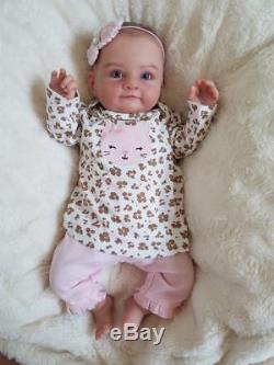 Reborn Baby Girl MARY by Olga Auer LIMITED EDITION sculpt! Lifelike Newborn Doll
