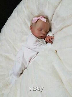 Reborn Baby Girl MEGAN Bountiful Baby Preemie Small Newborn Lifelike Doll