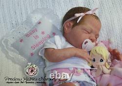 Reborn Baby Girl Macie By Cassie Brace/mimadollsl. Eooaknewborndollsiiora