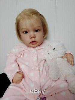 Reborn Baby Girl PENNY by Natali Blick SOLD OUT Limited Edition Doll RARE
