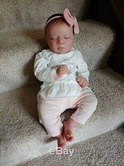 Reborn Baby Girl Realborn Alexa Bountiful Baby Lifelike Realistic Doll