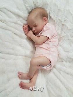 Reborn Baby Girl Realborn Ashley Bountiful Baby Realistic Small Newborn Doll