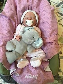 Reborn Baby Girl Realborn Elizabeth Bountiful Baby Realistic Newborn Doll