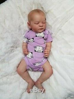 Reborn Baby Girl Realborn Evelyn Bountiful Baby Realistic Newborn Doll